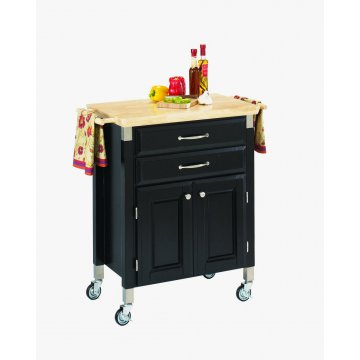 Dolly madison black island cart homestyles for Home styles furniture canada