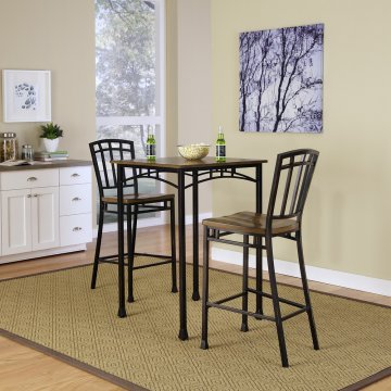 Superieur Modern Craftsman 3PC Bistro Set