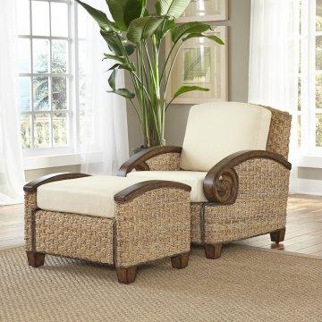 Exceptionnel Cabana Banana III Honey Chair And Ottoman