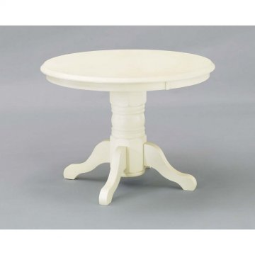 Tables Homestyles - Whitewashed pedestal dining table