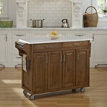 Create A Cart In Cottage Oak Finish