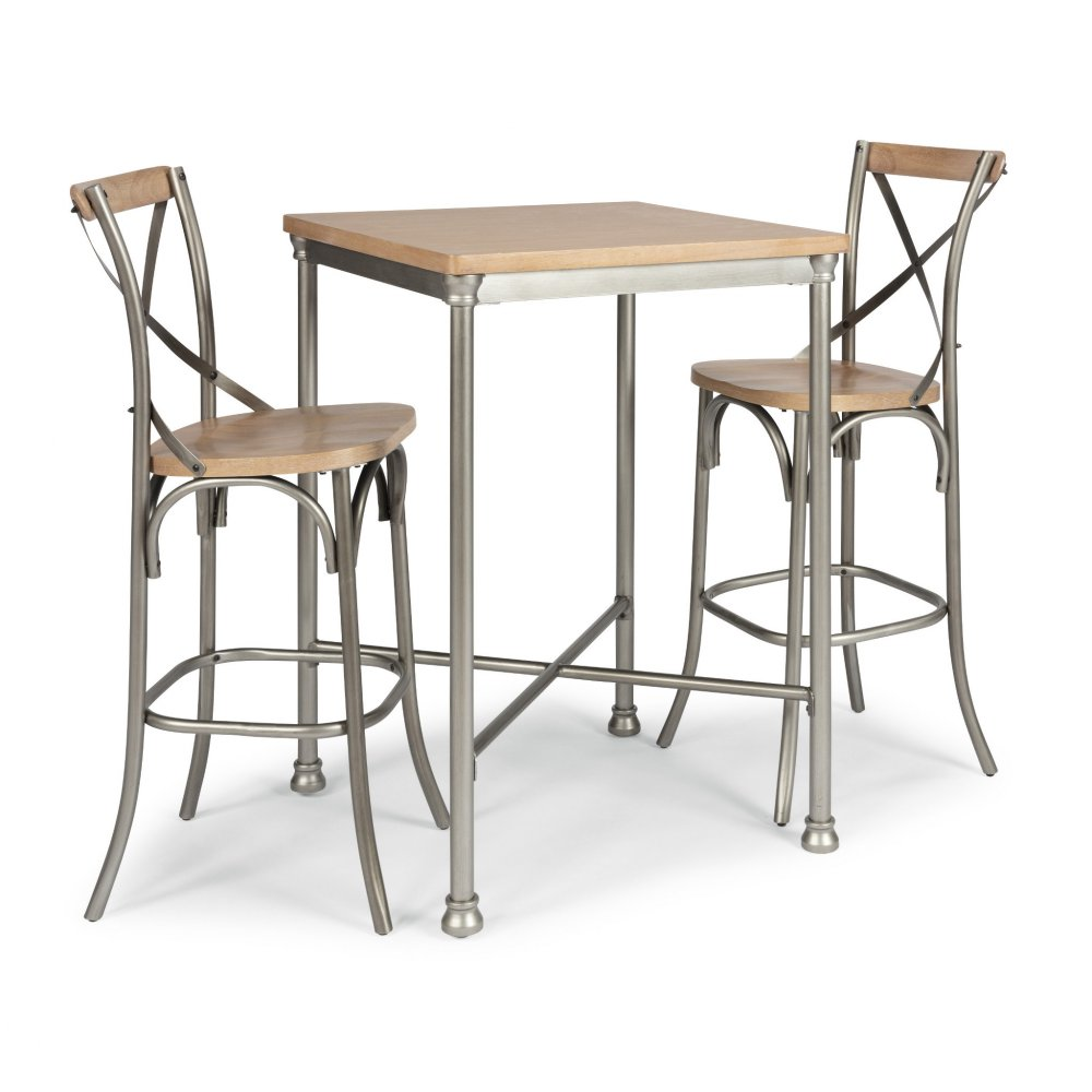French Quarter Bar Table and Two Stools 5064-358