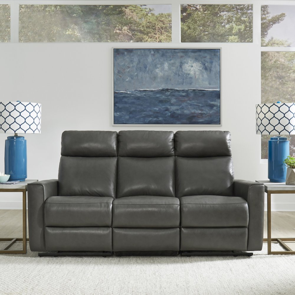 Nuovo Leather Power Motion Reclining Sofa & Recliner 5320-625
