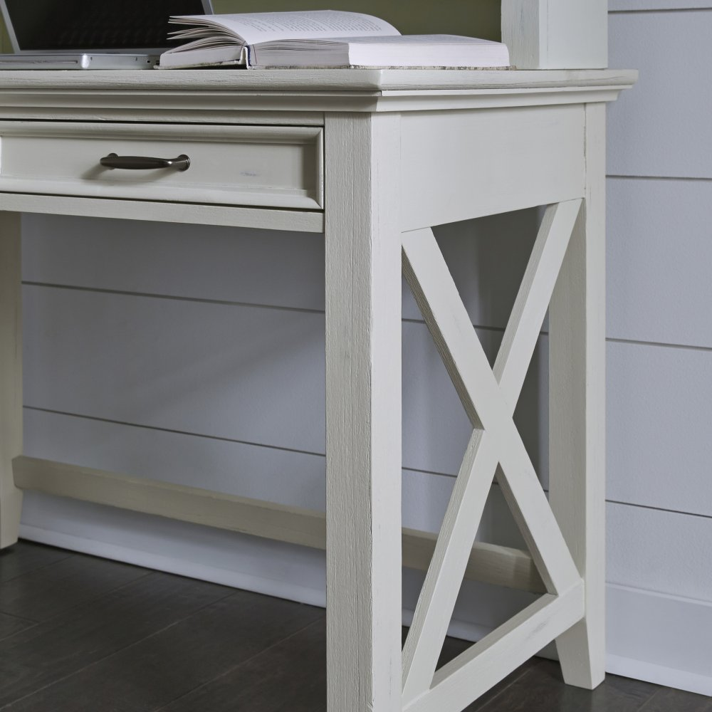 Seaside Lodge Student Desk and Hutch 5523-162