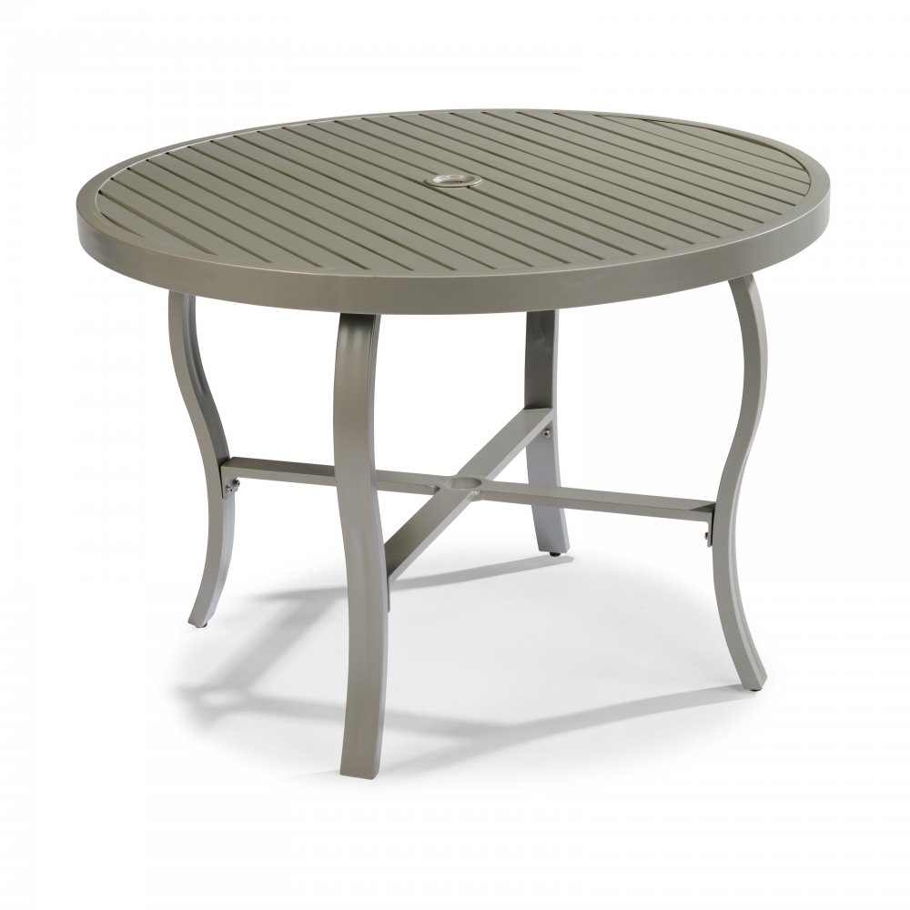 Daytona 48 Inch Round Outdoor Dining Table Home Styles