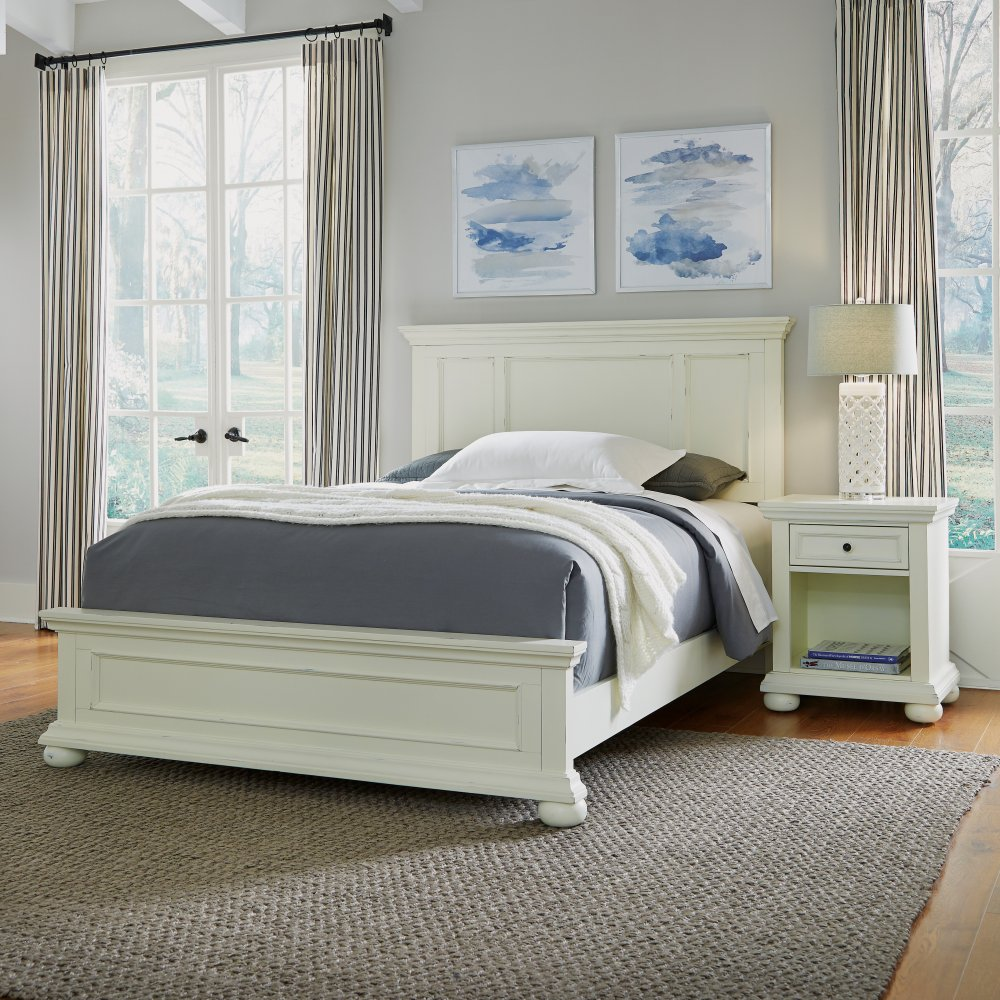 Dover Queen Bed and Night Stand Set 5427-5020