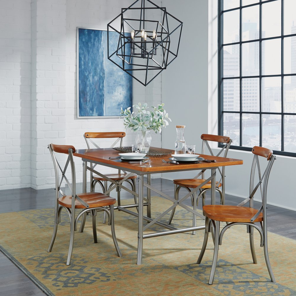 5061-348 Orleans 5 Pc Dining Set with Dining Table and 4 Chairs