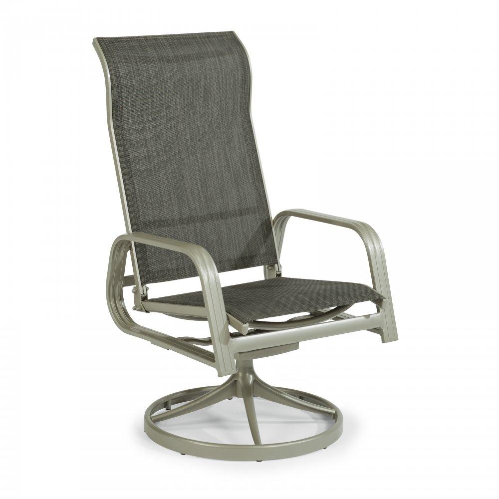 South Beach Sling Swivel Rocking Chair