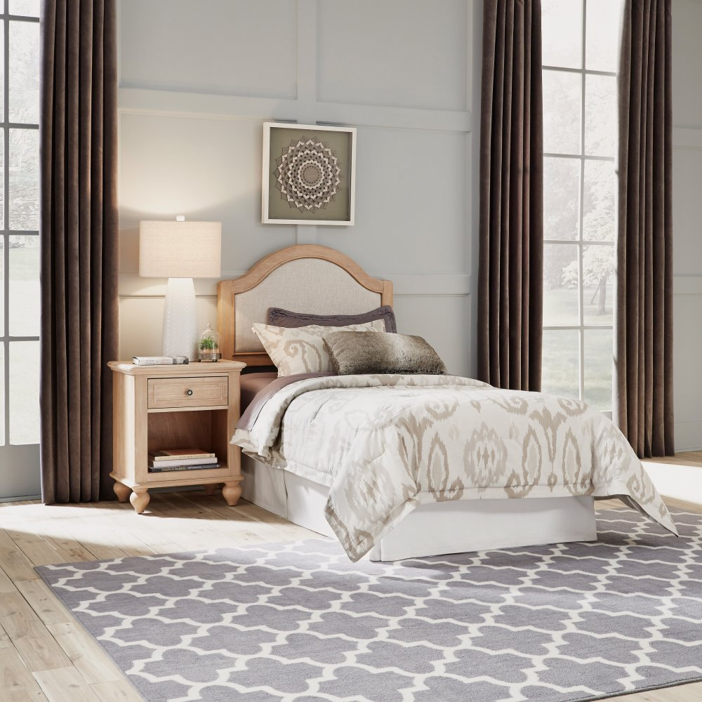 Cambridge Twin Headboard and Nightstand 5170-4015