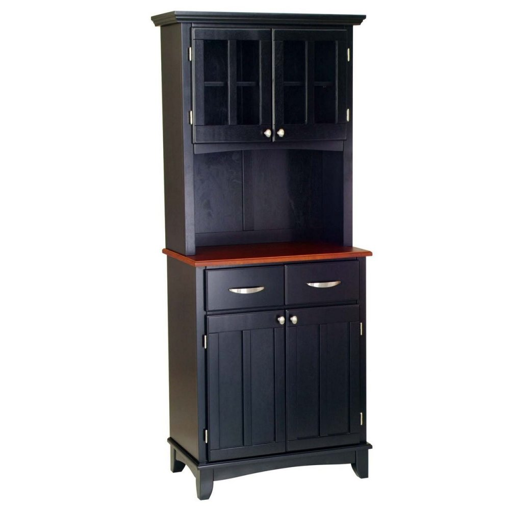 Buffet Of Buffets With Wood Top And Hutch Homestyles