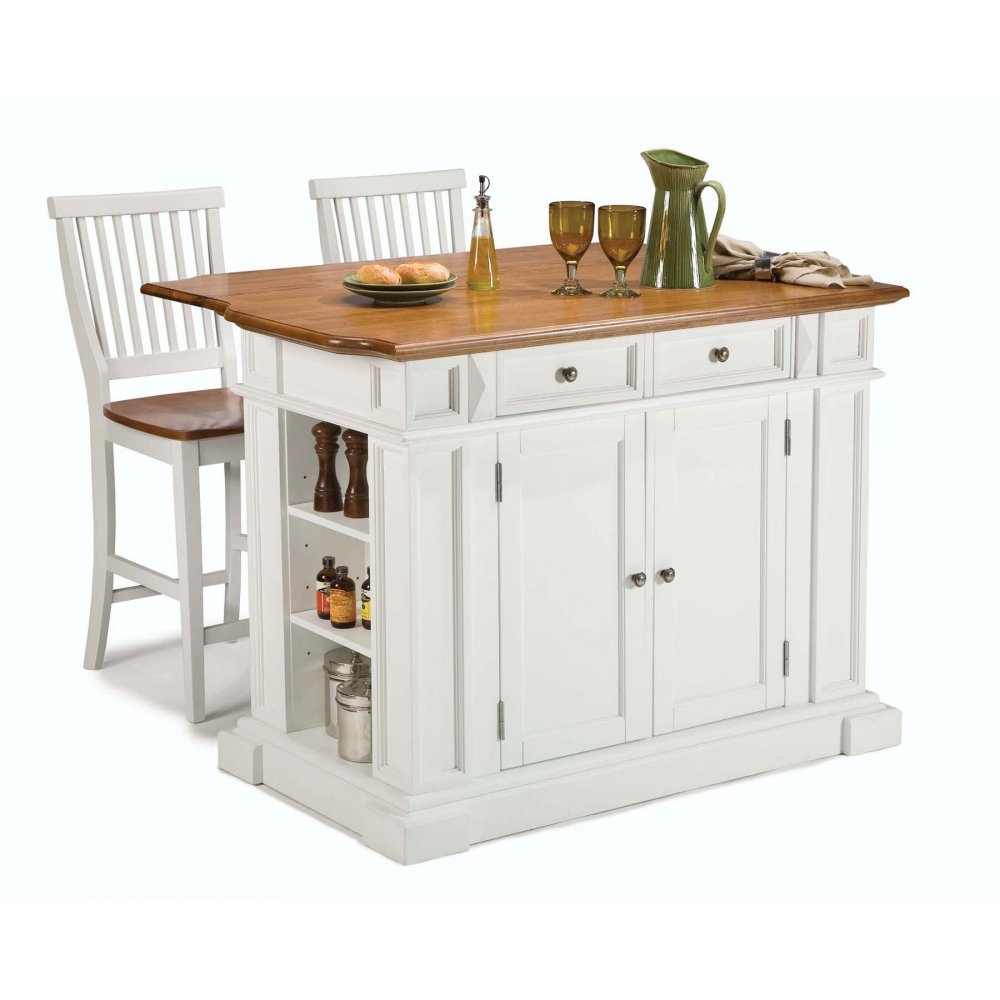 Distressed White Kitchen Table Kitchen Islands Homestyles
