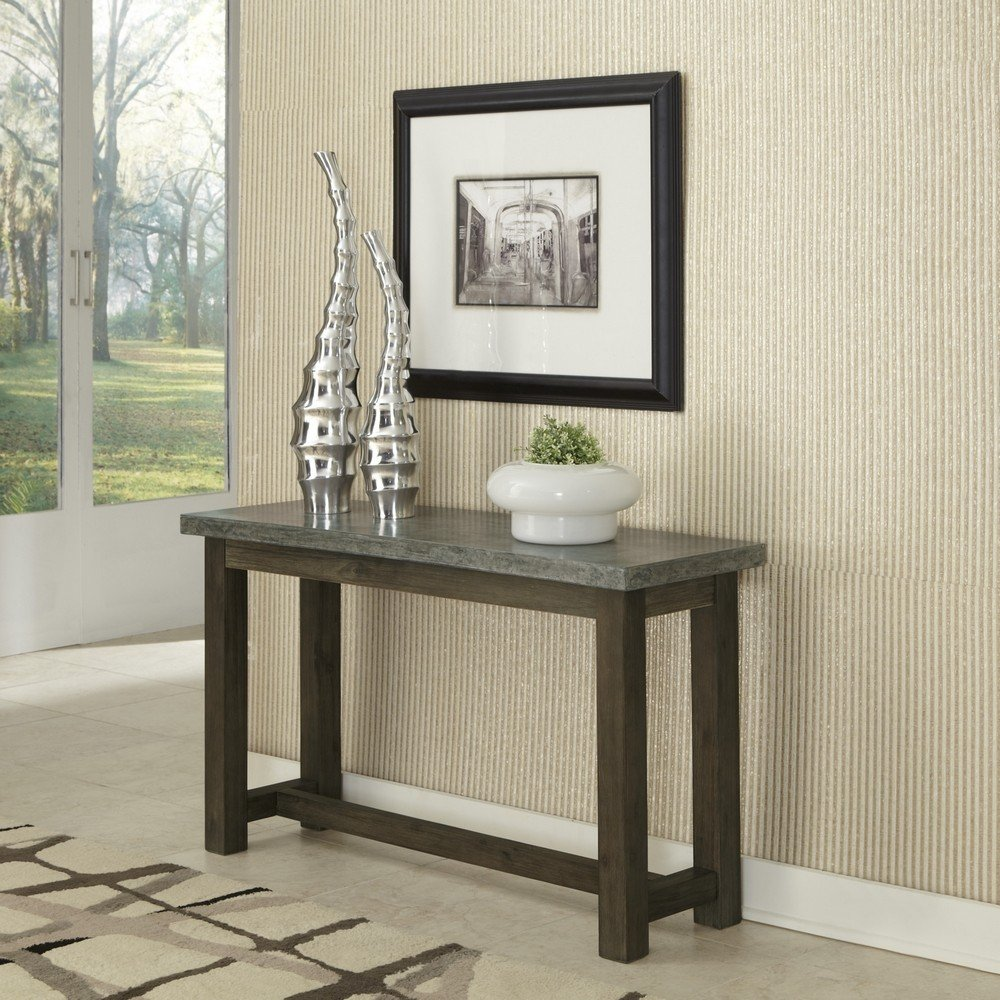 Nice Concrete Chic Console Table