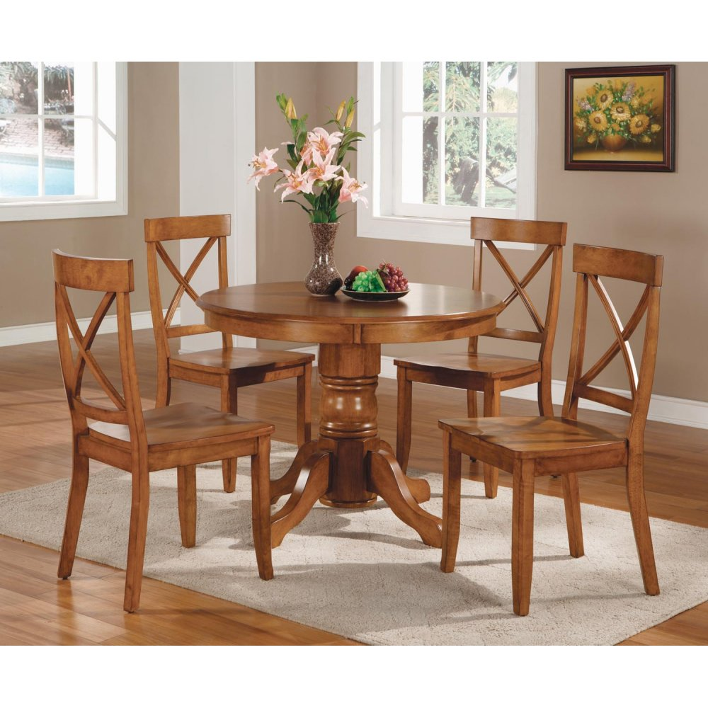 Dining Table shown with Four Optional Chairs