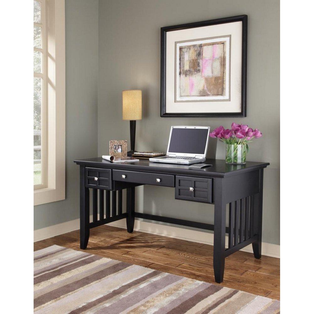 Arts Crafts Black Executive Desk