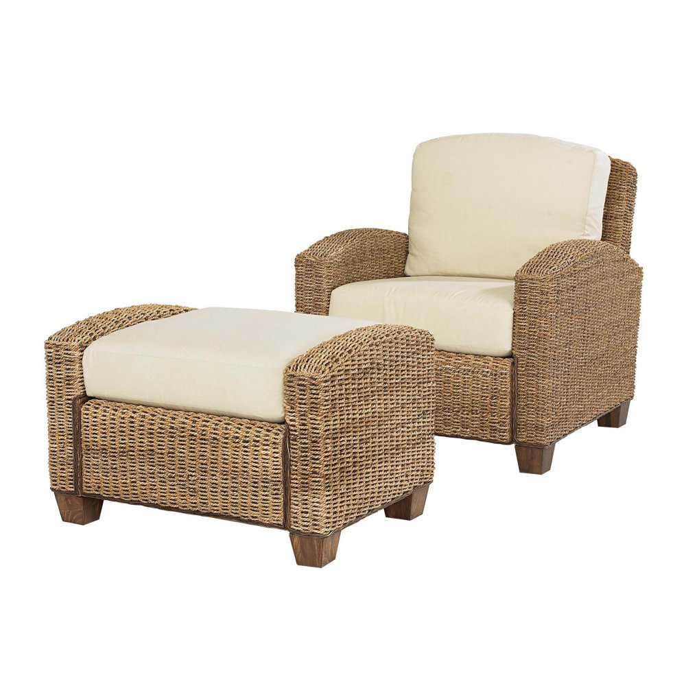 Cabana Banana Honey Chair And Ottoman