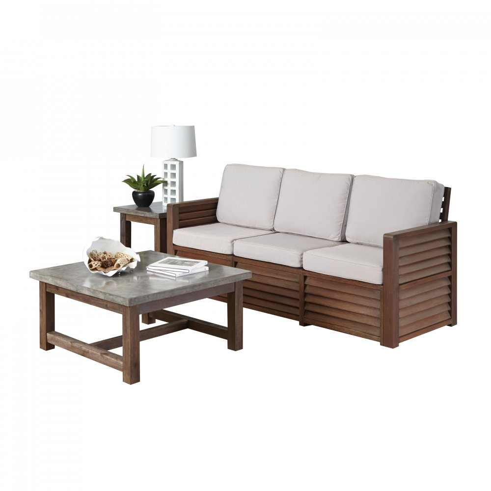 Barnside Three Seat Sofa End Table And Coffee Table Homestyles