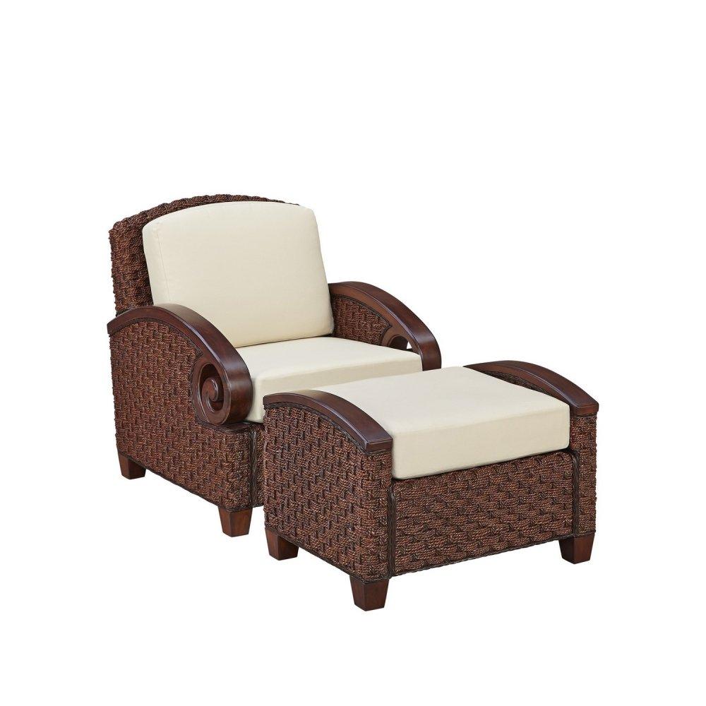 Cabana Banana Iii Cinnamon Chair And Ottoman Homestyles