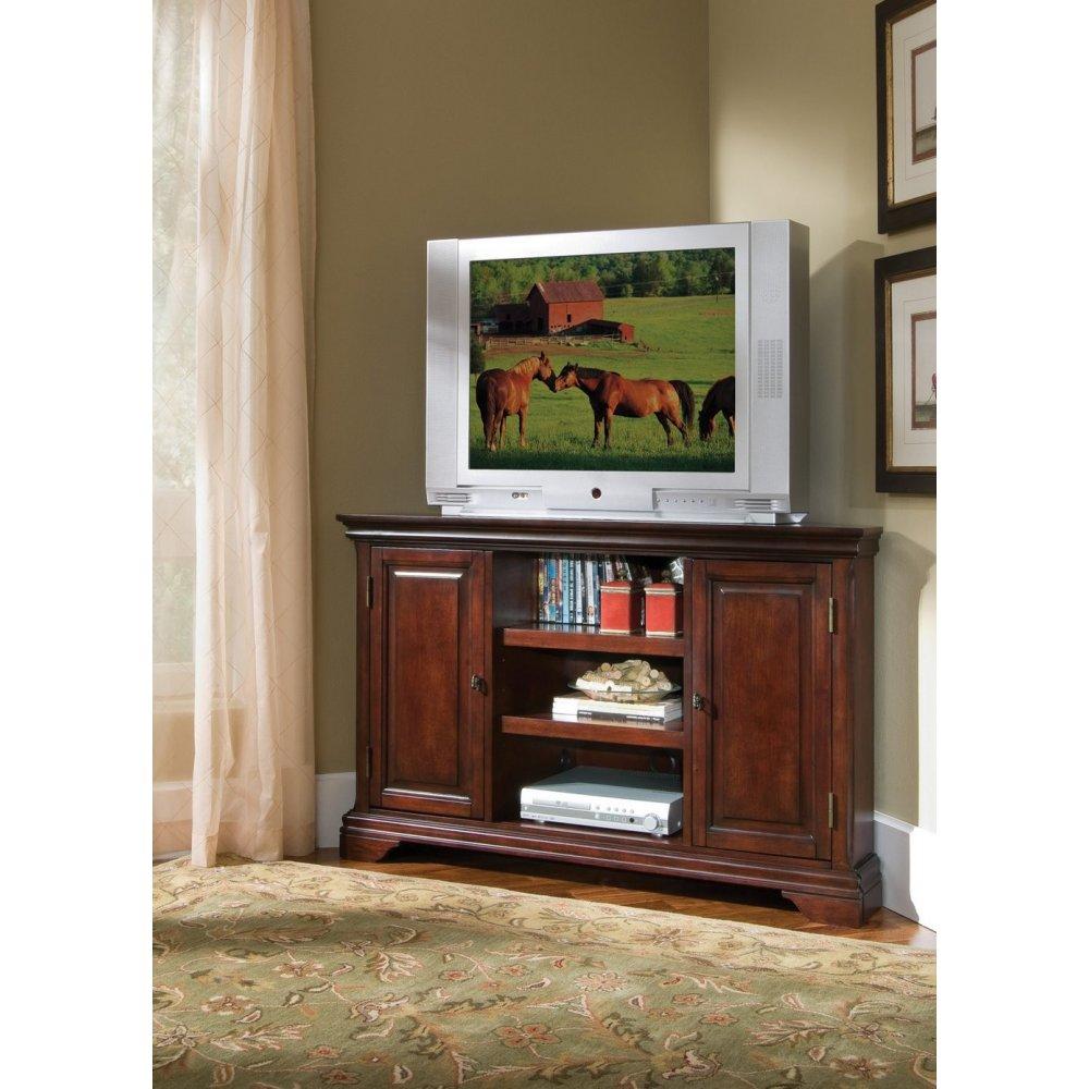Lafayette Cherry Corner Tv Stand Home Styles