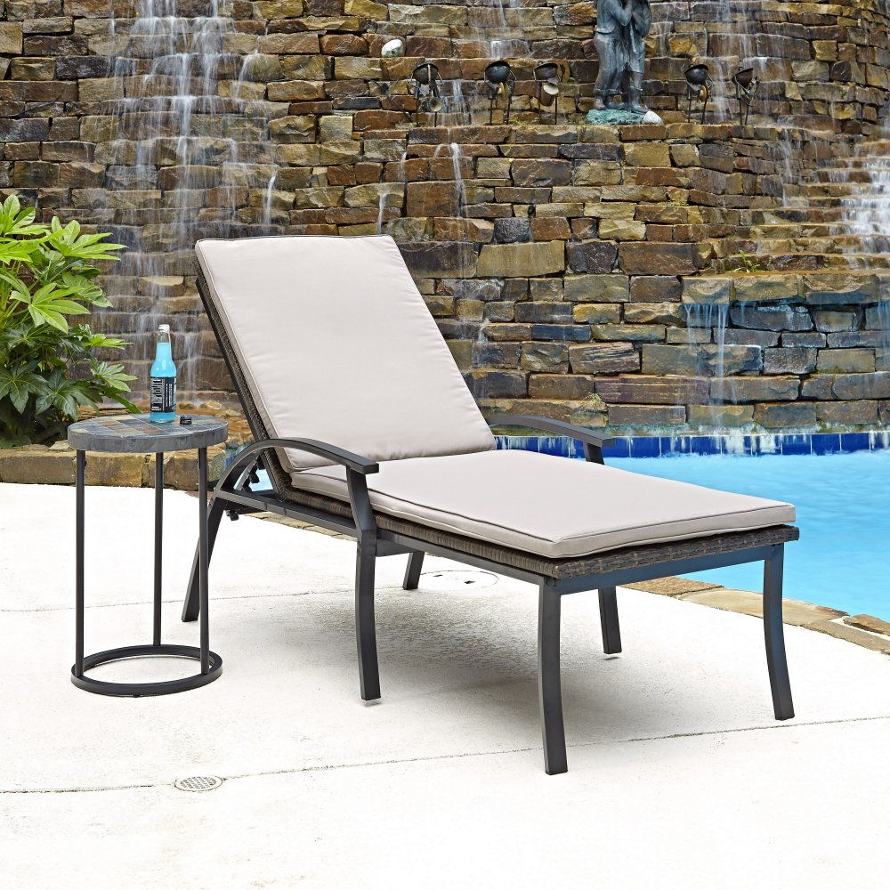 Laguna Chaise Lounge Chair And Accent Table Home Styles