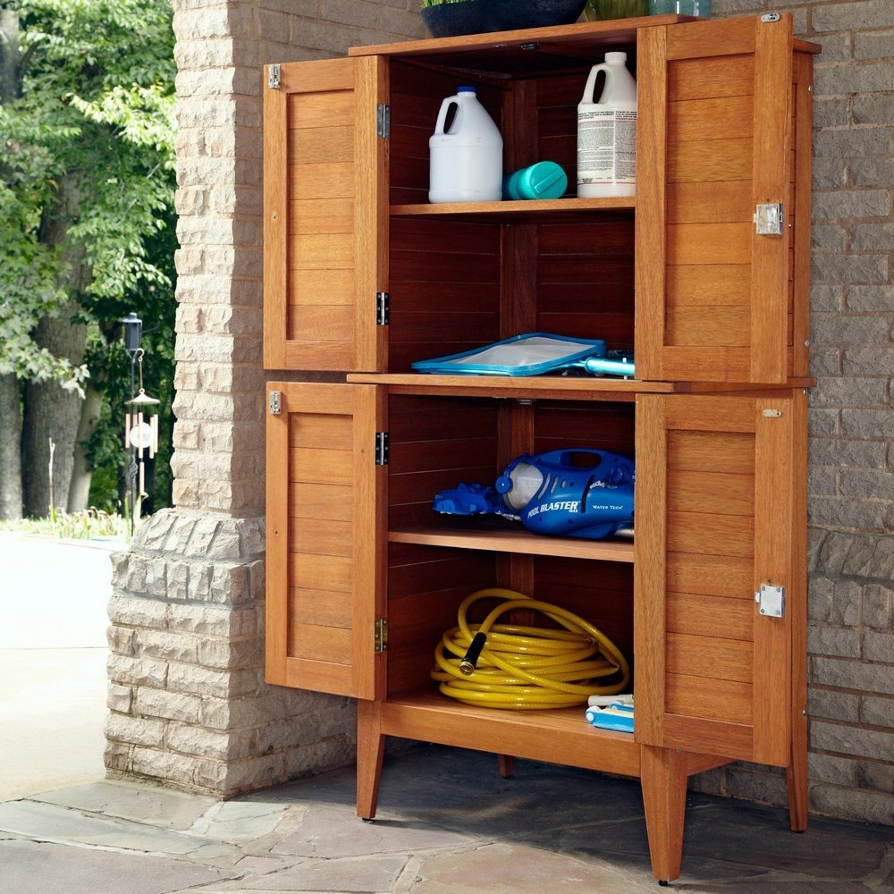 Montego Bay Four Door Multi-Purpose Storage Cabinet | Home ...