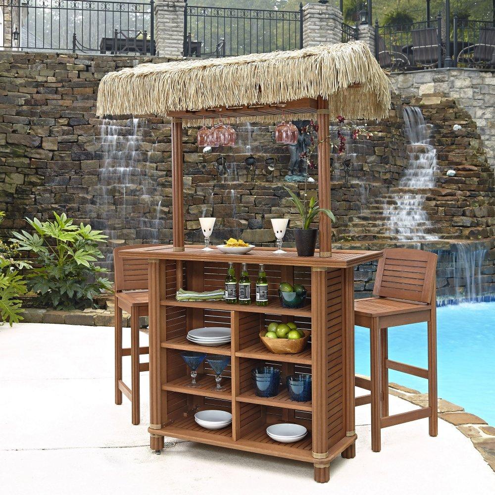 bali hai tiki bar and two stools homestyles
