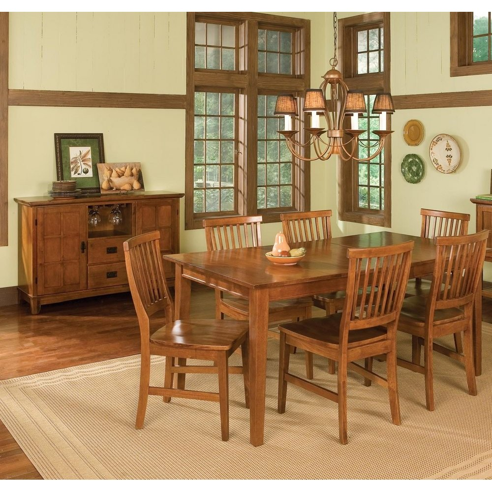Dining Room Furniture Product: Arts & Crafts Buffet Cottage Oak Finish