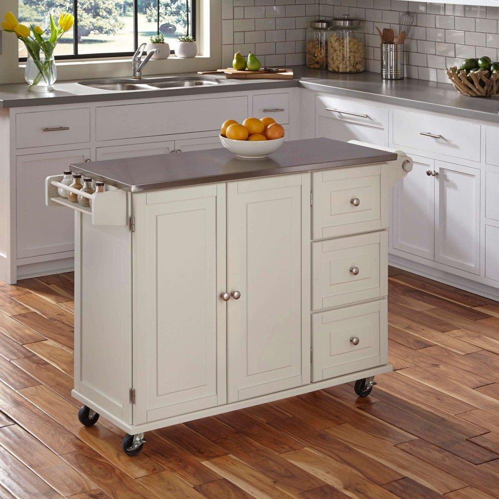 Liberty Kitchen Cart w/ SS Top 4512-95