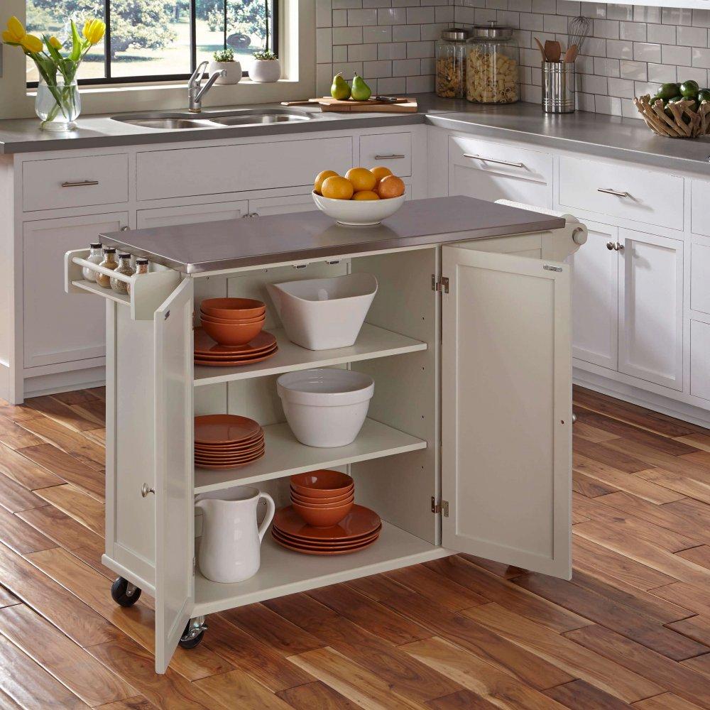 ... Liberty Kitchen Cart W/ SS Top 4512 95 ...