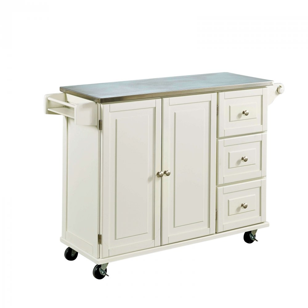 Liberty Kitchen Cart w/ SS Top 4512-95