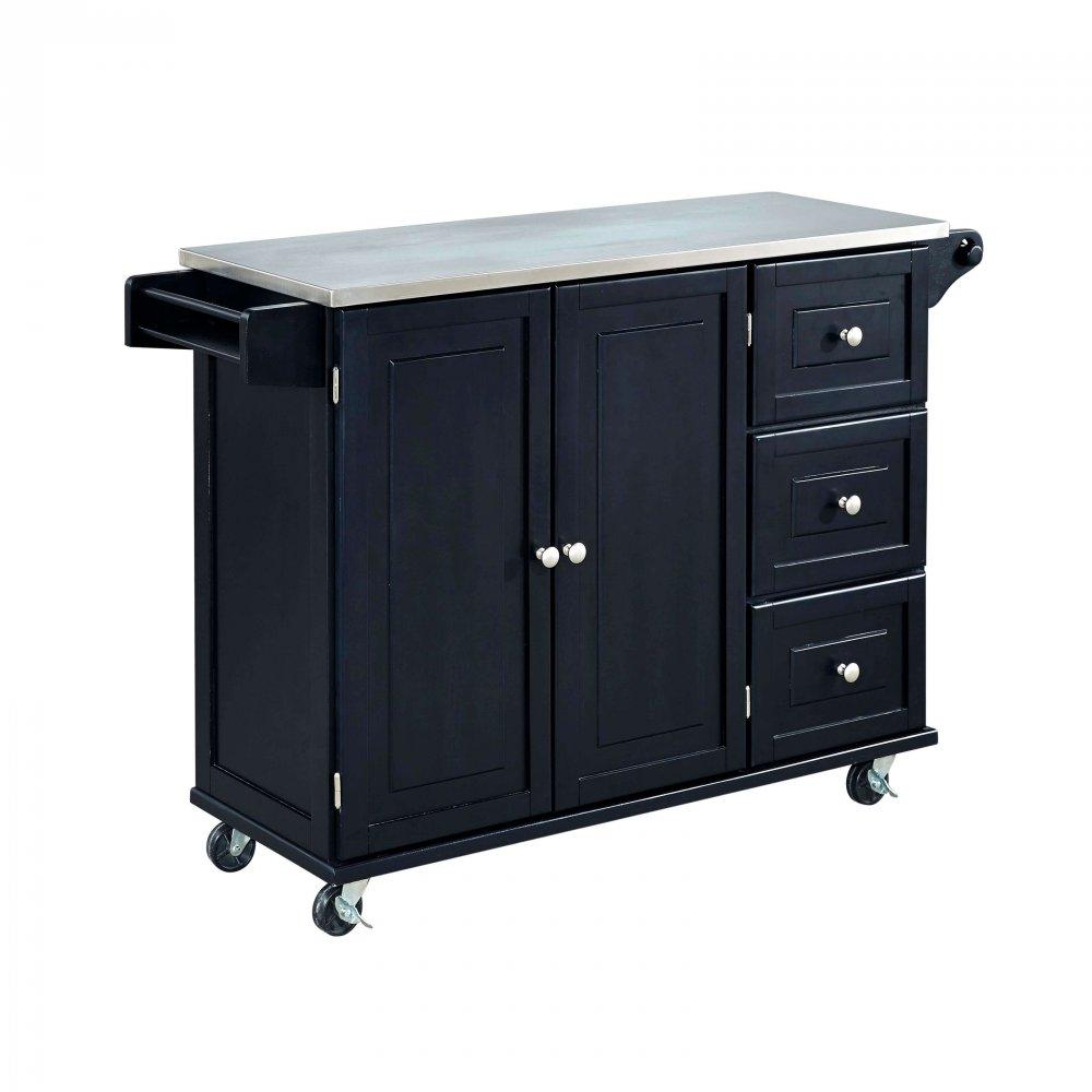 Liberty Kitchen Cart w/ SS Top 4513-95