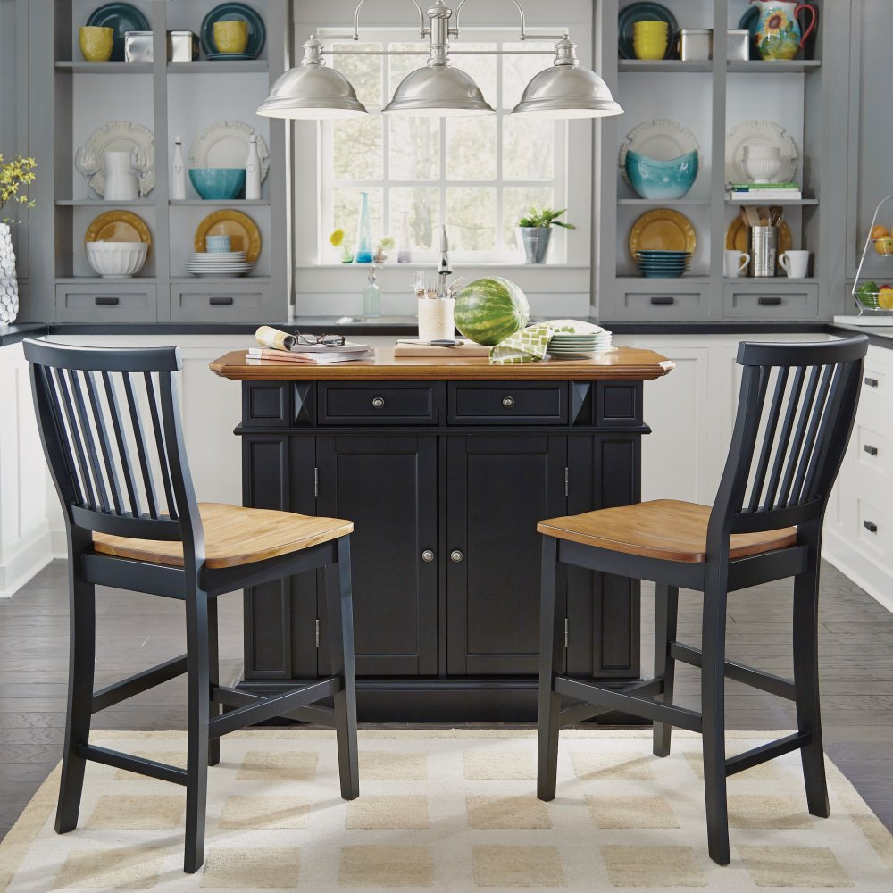 5003-89 Stool shown with the 5003-94 Island (Sold Separately)
