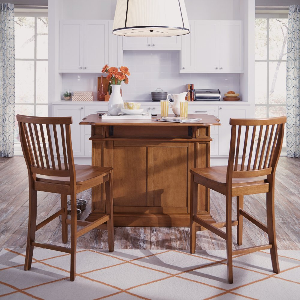5004-89 Stools Pictured with 5004-94 Island (Sold Separately)