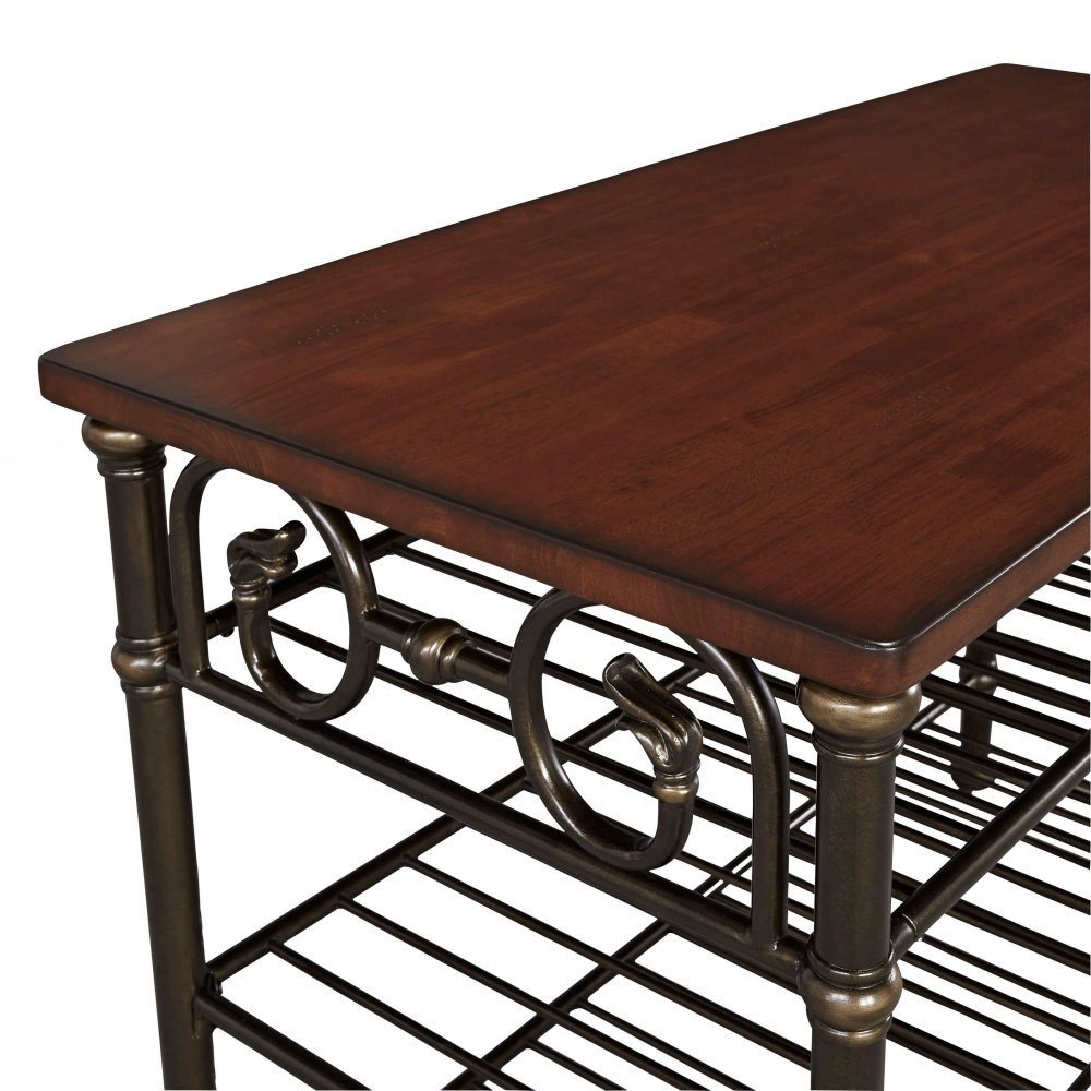 Richmond Hill Kitchen Island with Wood Top 5063-94
