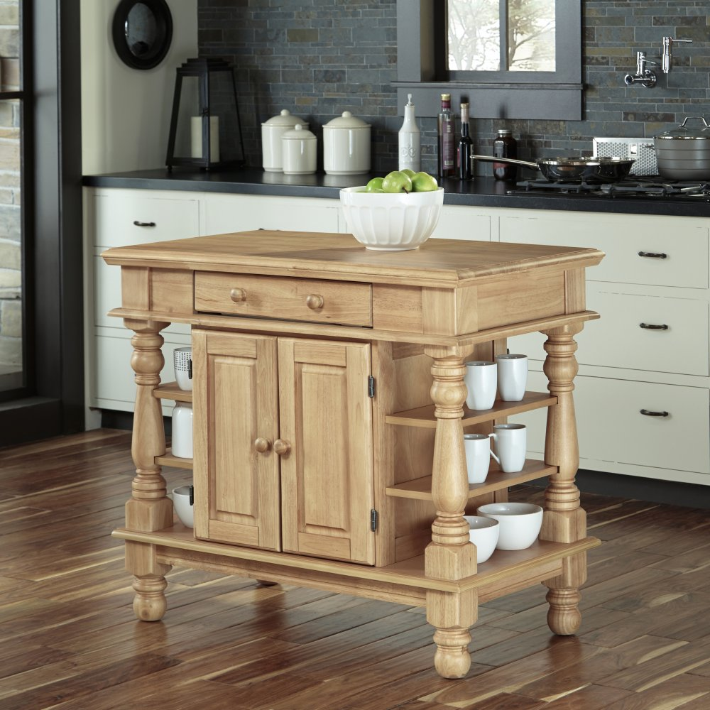 americana natural kitchen island homestyles home styles 509 americana granite kitchen island