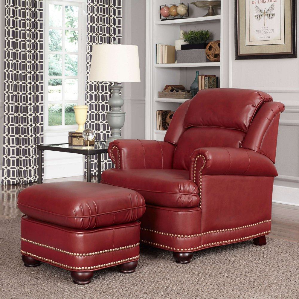 Winston Stationary Chair And Ottoman Home Styles