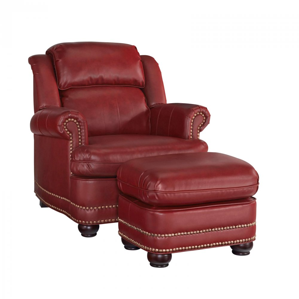 Winston Stationary Chair and Ottoman 5201-100