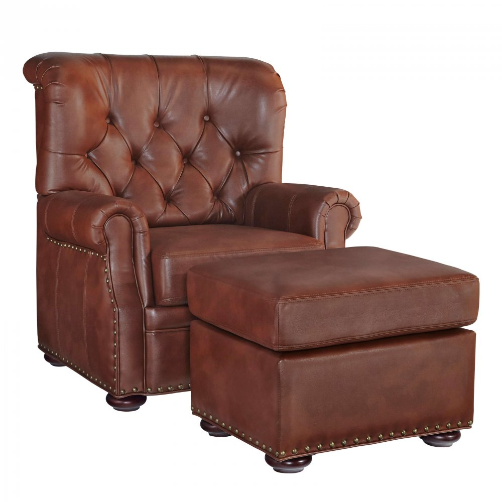 Miles Stationary Chair and Ottoman 5203-100