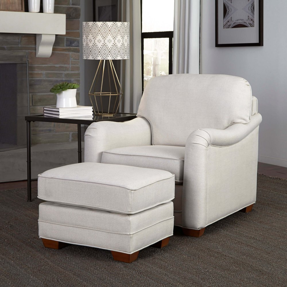 Heather Stationary Chair and Ottoman 5205-100