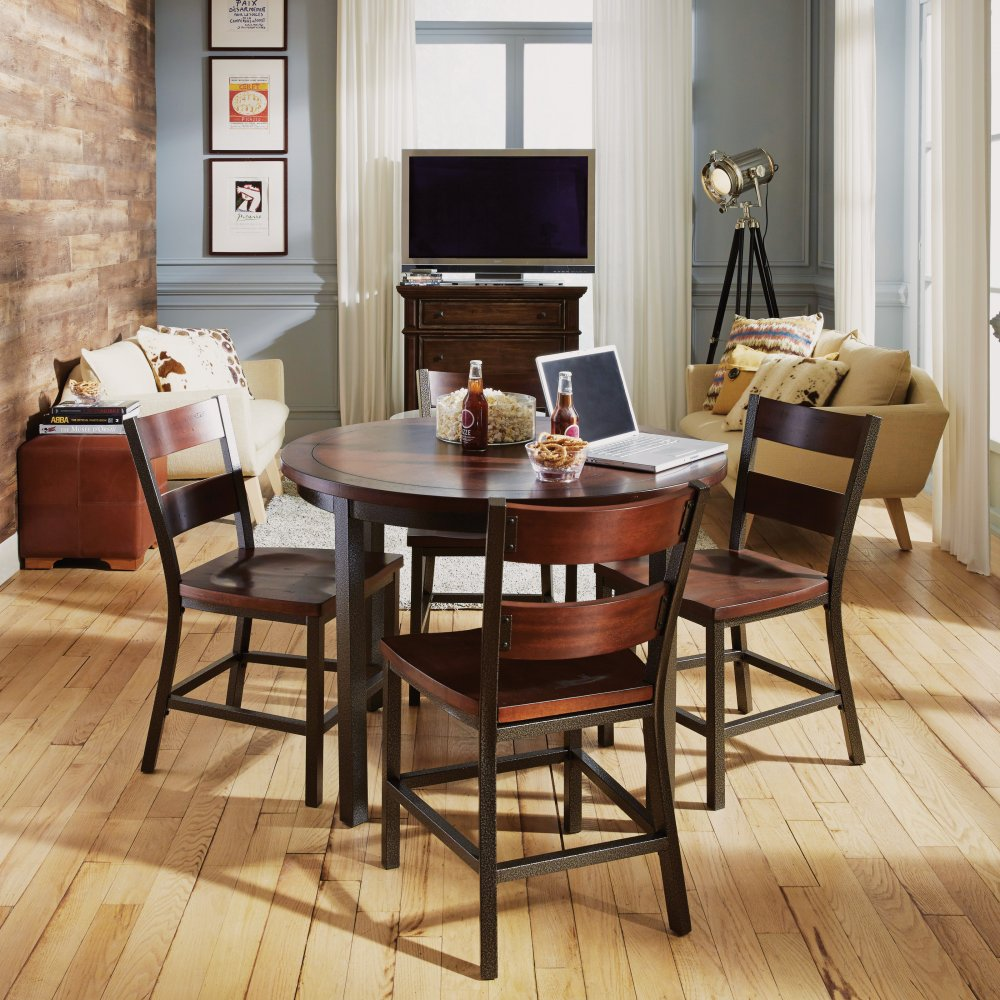 5411-802 chair shown with the 5411-30 table, sold separately
