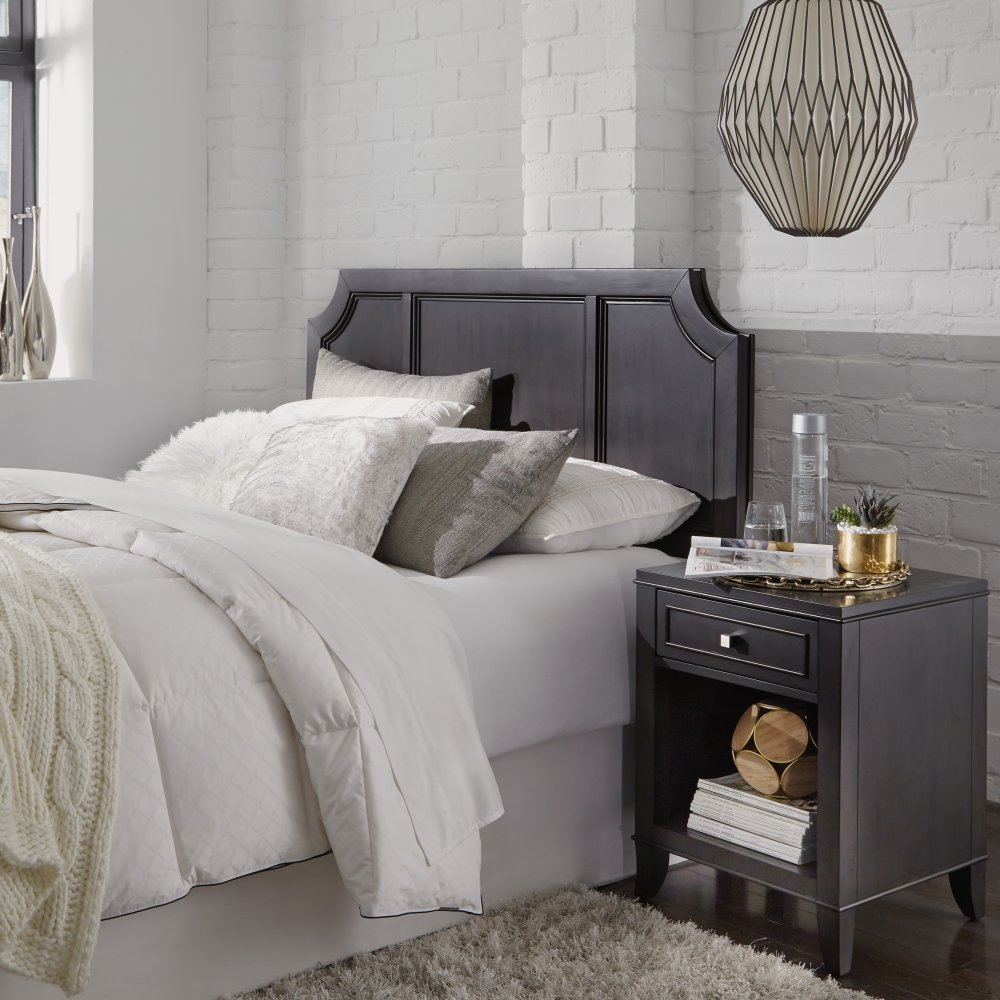 5436-501 & 5436-42 5th Avenue Queen Headboard and Night Stand