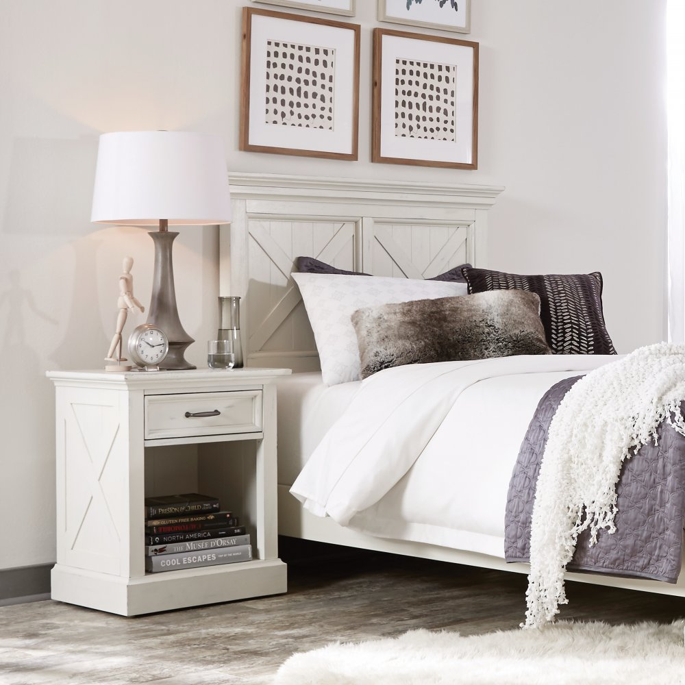 5523-401 headboard shown with the 5523-42 nightstand, sold separately
