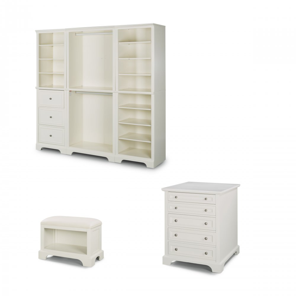 Terrific Naples 3 Pc Storage Wall Unit With 30 Inch Storage Island Ncnpc Chair Design For Home Ncnpcorg