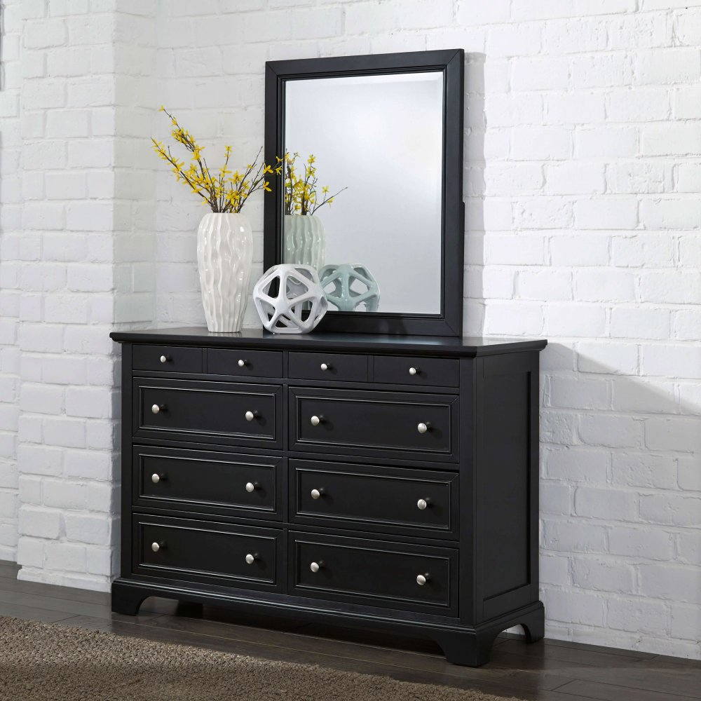 ... Bedford Dresser And Mirror 5531 74 ...
