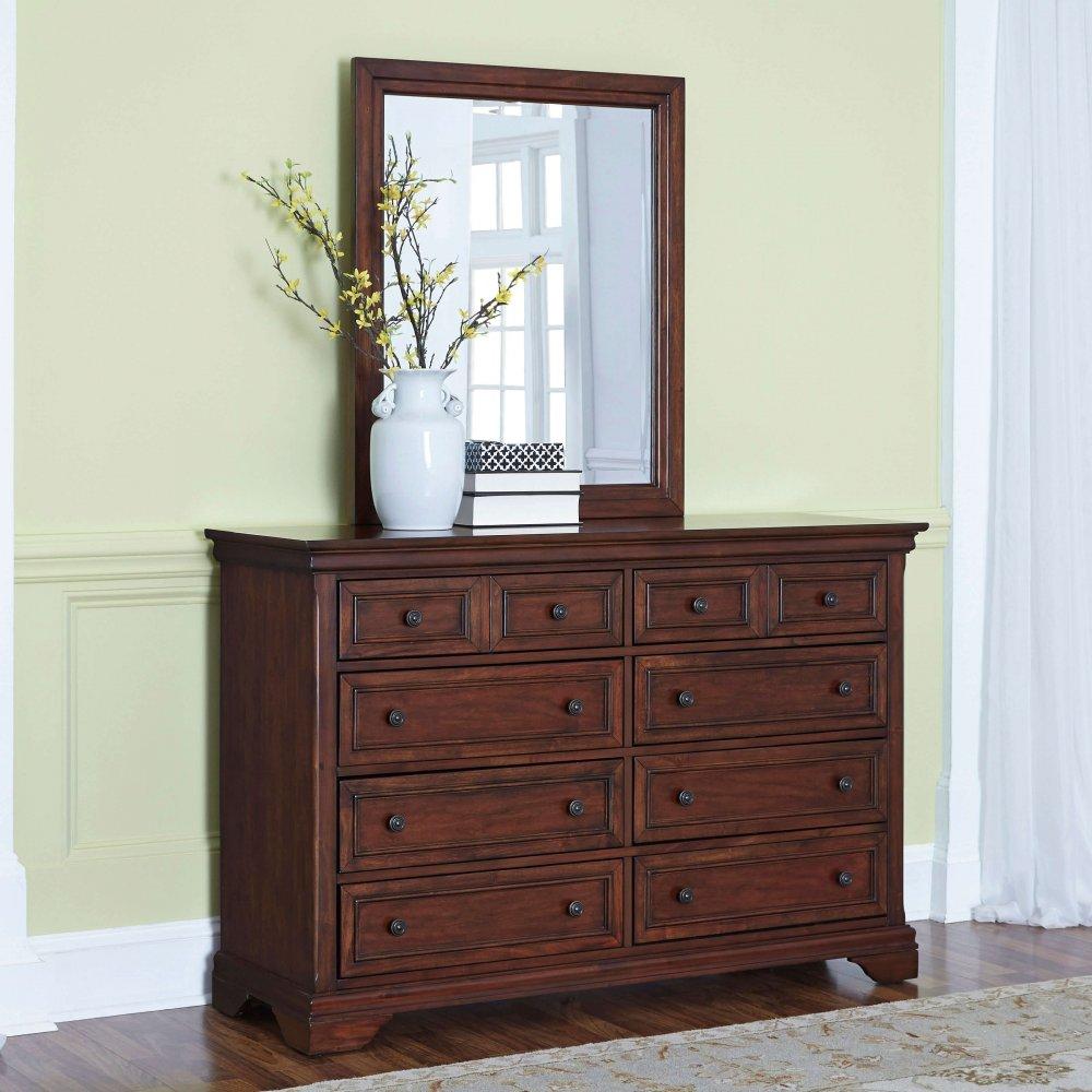 Lafayette Dresser and Mirror 5537-74