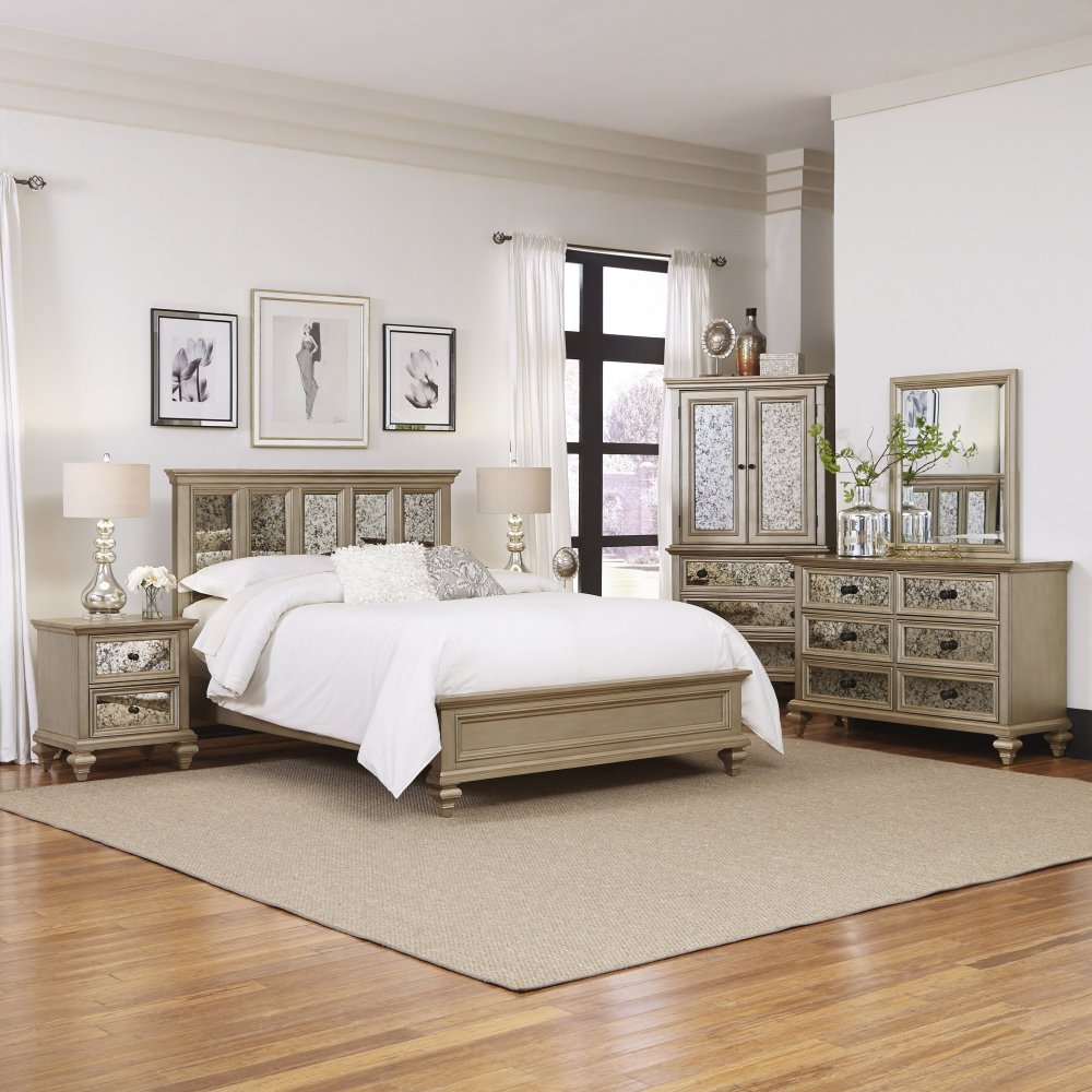 Visions 5 Piece King Bedroom Set 5576-6020