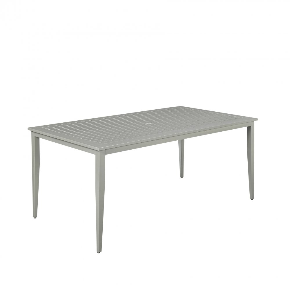South beach rectangular outdoor dining table homestyles for Beach dining table