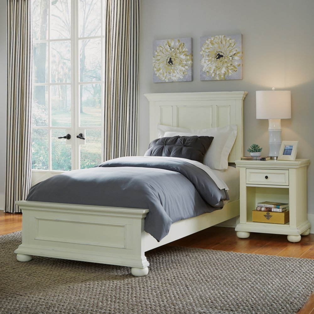 Dover Night Stand 5427-42 shown with Dover Twin Bed 5427-400
