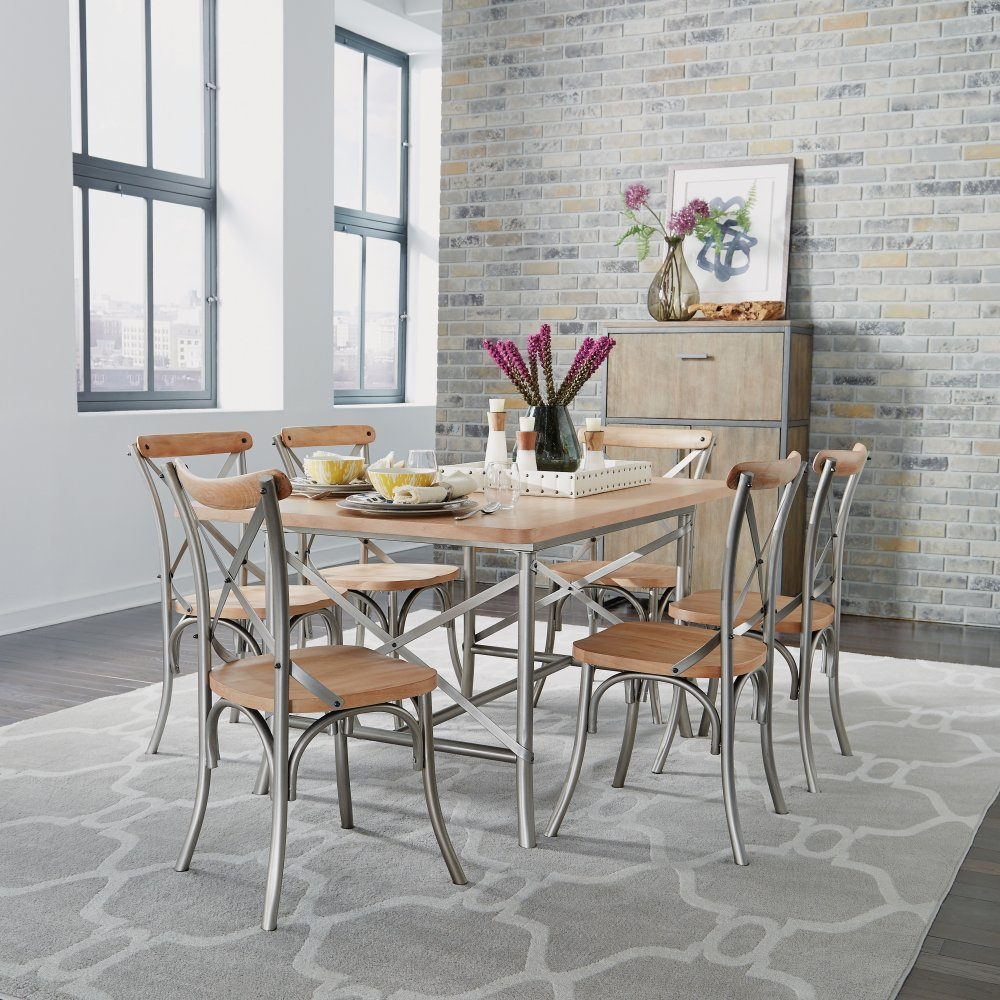 French Quarter Dining Table 5064-31 shown with French Quarter Dining Chairs 5064-80, sold separately