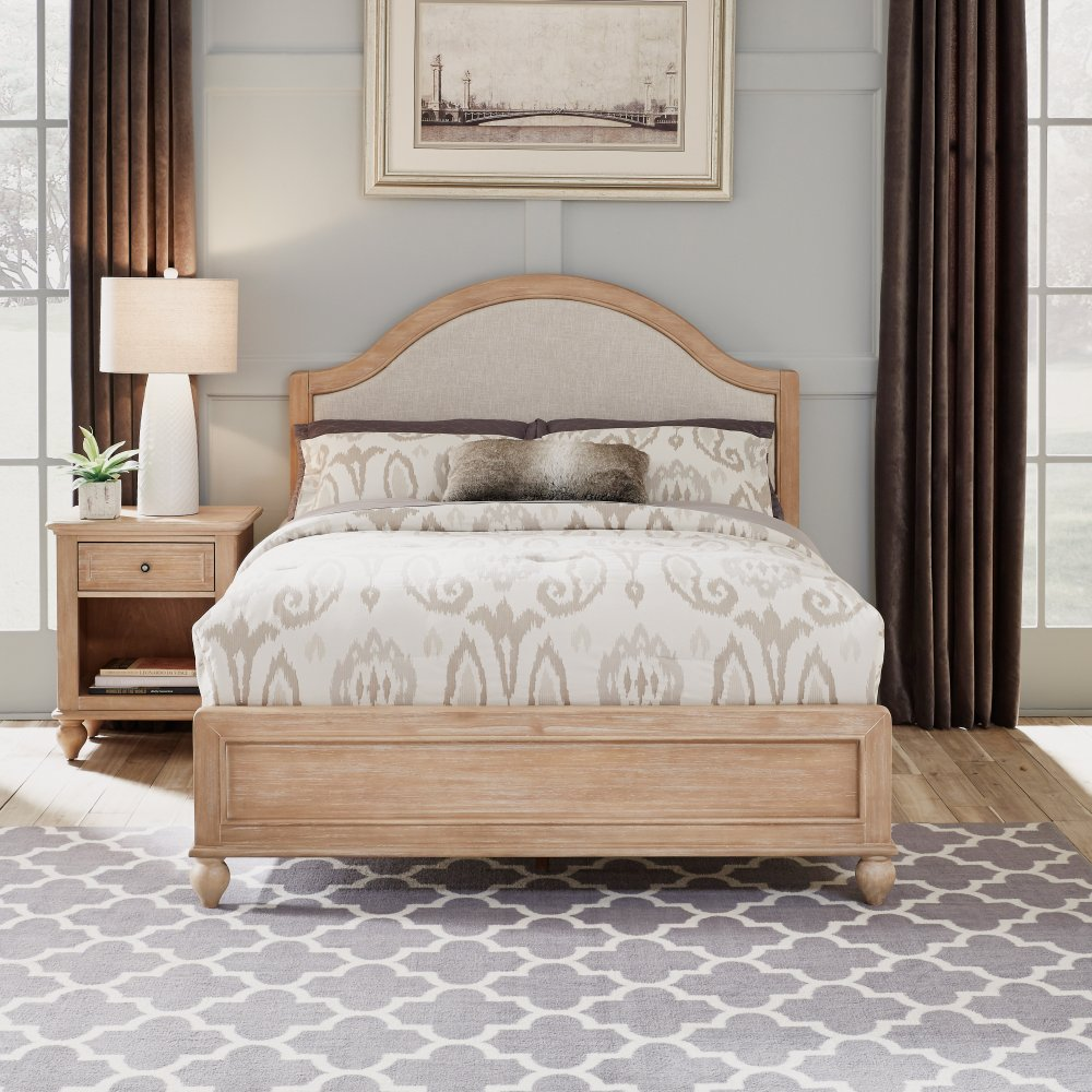 Cambridge Night Stand 5170-42 shown with Cambridge Queen Bed 5170-500