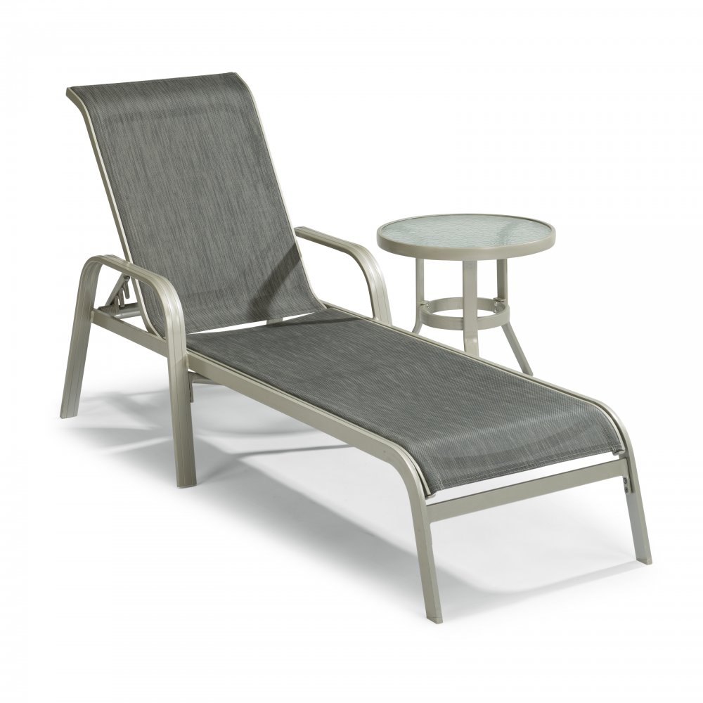 South Beach Chaise and Accent Table 5700-832